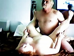 Busty Granny Getting Fucked By An Old Cock On A Sunday Afternoon