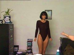 Casting Girl Goes Naked